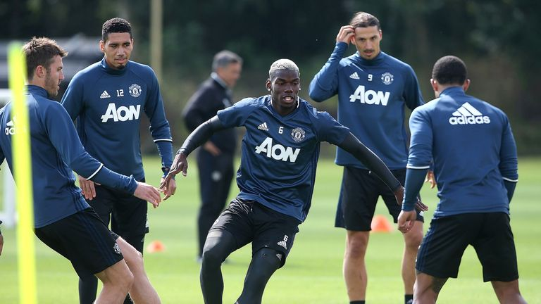 Paul Pogba has declared himself fit for Manchester United's game against Southampton