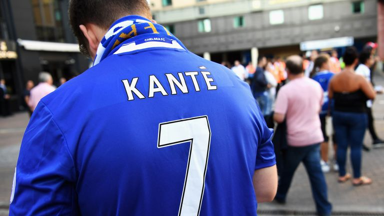 Antonio Conte brought in Leicester's N'Golo Kante