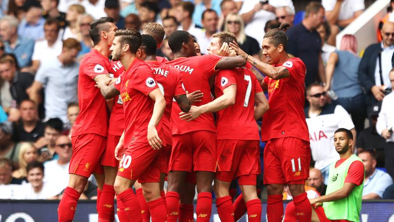 The Reds have won five of their last seven games in all competitions