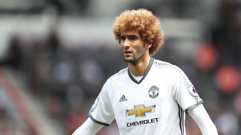 Marouane Fellaini recently signed a contract extension at Man Utd