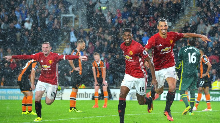 Five of United's goals this season have come from crosses