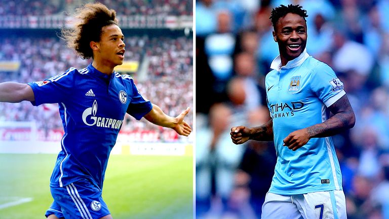 timeless design 50347 b88e5 Leroy Sane can learn from Raheem Sterling's experience at ...