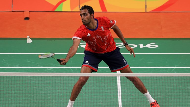 Rajiv Ouseph also tasted victory on Monday