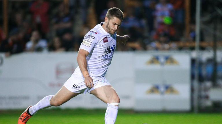 Rhys Hanbury was one of several players who impressed for Widnes