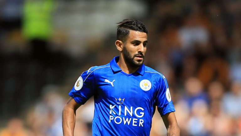 File photo dated 13-08-2016 of Leicester City's Riyad Mahrez PRESS ASSOCIATION Photo. Issue date: Wednesday August 17, 2016. Riyad Mahrez has admitted only