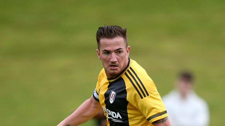 Ross McCormack in pre-season action for Fulham