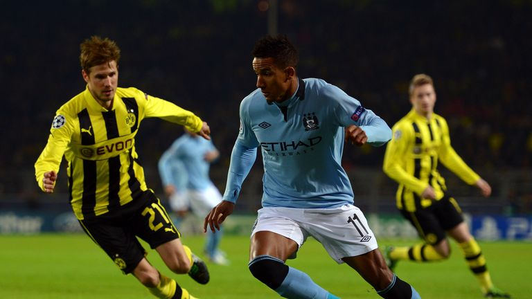Sinclair has sampled Champions League football with City against Borussia Dortmund - but not at the Etihad