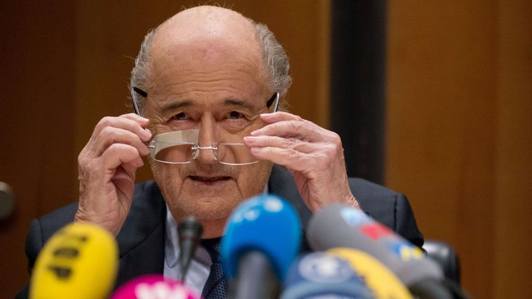 Sepp Blatter rejects claims he is corrupt