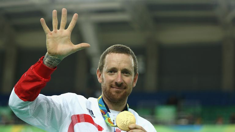 Wiggins' Olympic medal haul includes five golds
