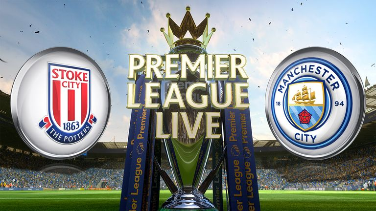 Stoke host Manchester City in the lunchtime kick-off. Watch live on SS1.