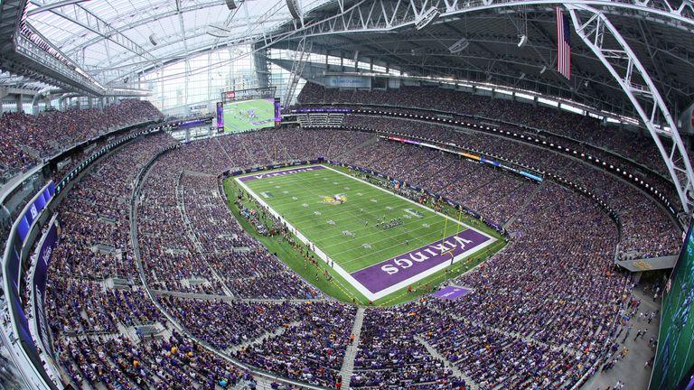 The U.S.Bank Stadium, home to the Minnesota Vikings, will host Super Bowl 52