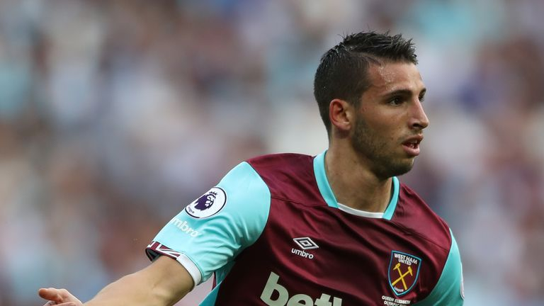 Jonathan Calleri could leave the Hammers and join Spanish side Las Palmas
