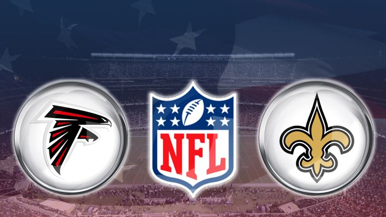 Image result for Saints vs Falcons Live Live pic logo