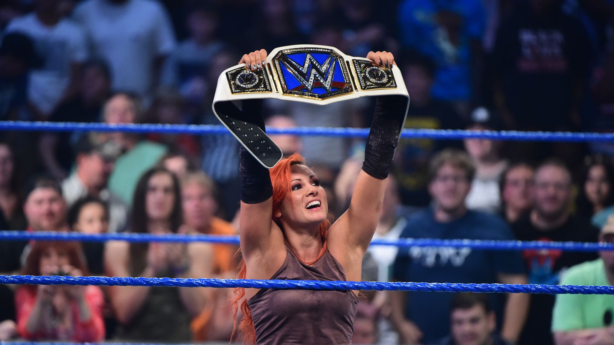 Becky wins the SD Women's Championship
