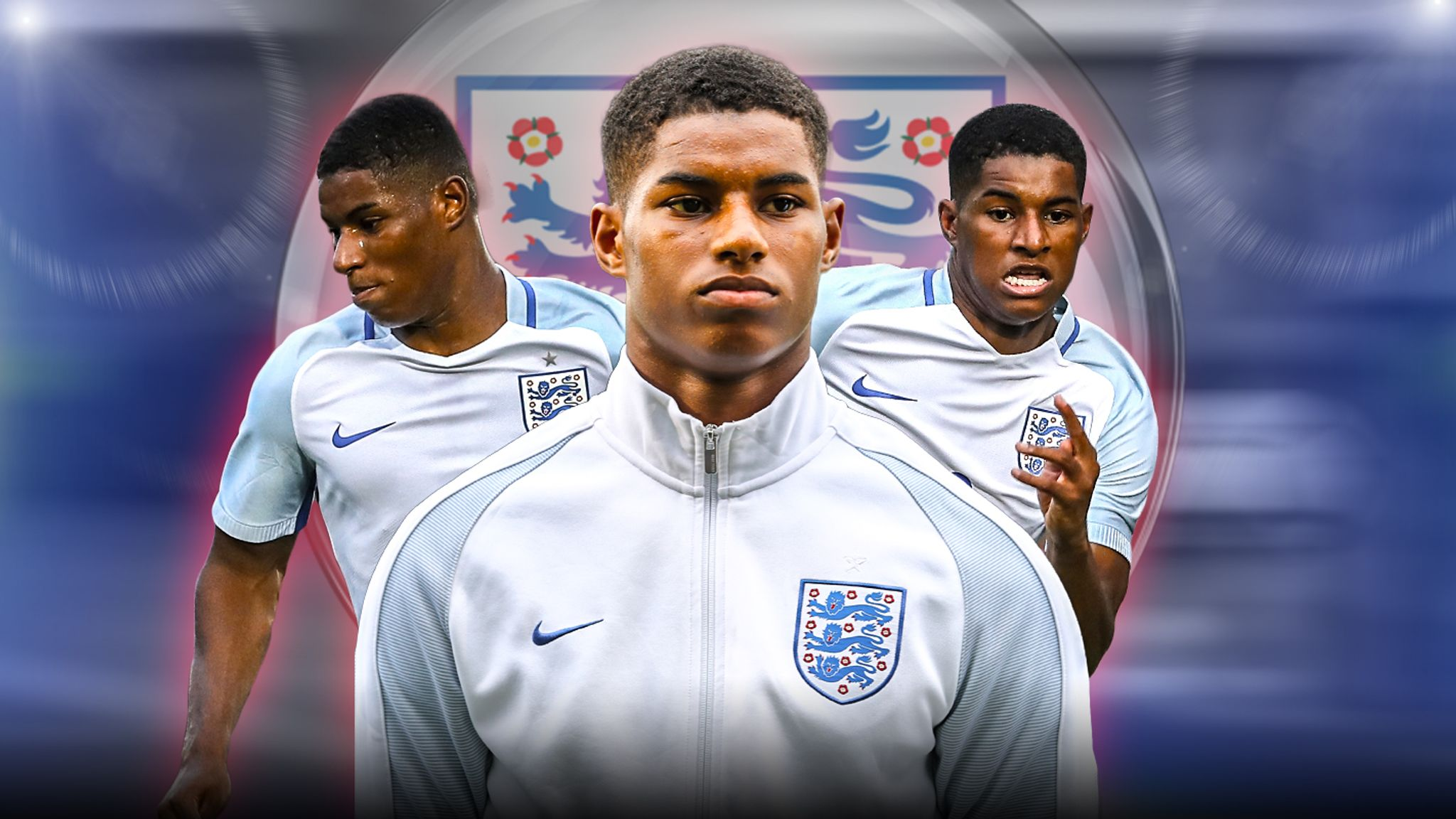 Marcus Rashford Made To Wait By Manchester United And England Football News Sky Sports
