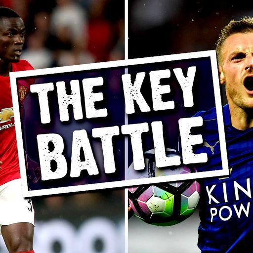 Key Battle: Bailly v Vardy