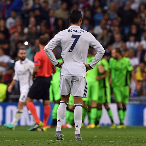 Ronaldo steps up