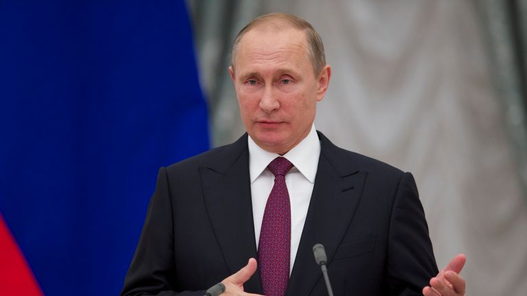 Vladimir Putin has been urged to ensure WADA's demands are met