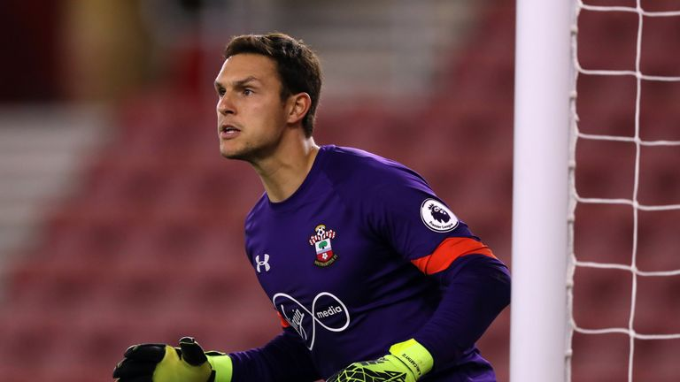 Southampton goalkeeper Alex McCarthy has received a late call up to England's squad