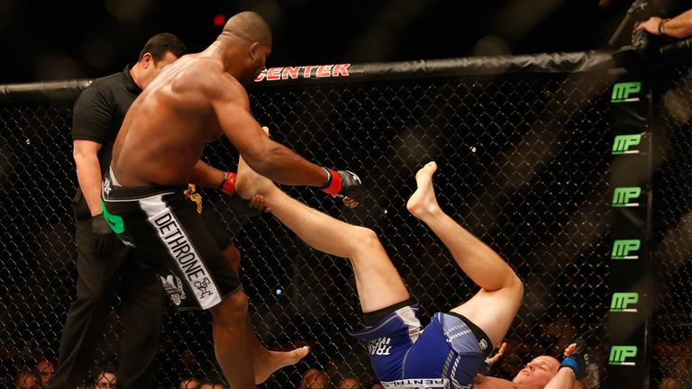 Overeem has won his last four fights