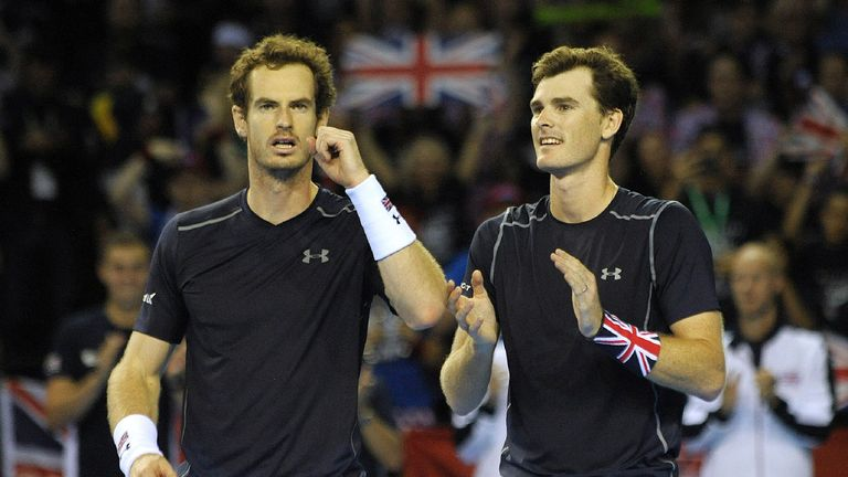 Could we see Andy and Jamie Murray in doubles action at Grand Slams?