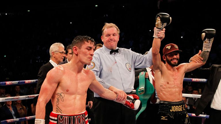 Anthony Crolla lost a unanimous decision to Jorge Linares