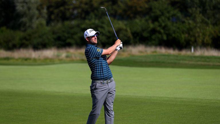 Bernd Wiesberger had taken a one-shot lead in to the weekend