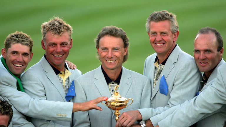 Bernhard Langer was a great player and captain