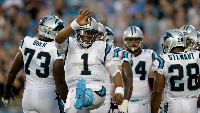 1b52c72ca Cam Newton kicks off the NFL season on Thursday