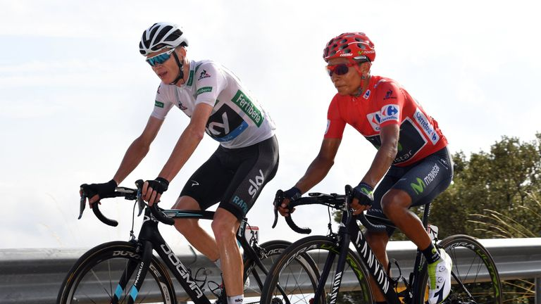 Quintana chased down a flurry of attacks from Froome on the final climb