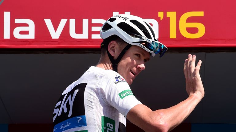 Rosa and Elissonde will support Chris Froome