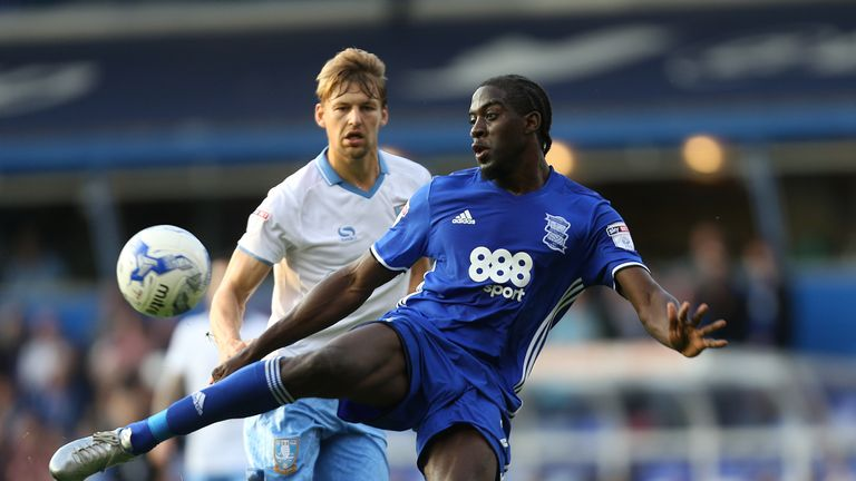 Clayton Donaldson: Could miss out for Birmingham