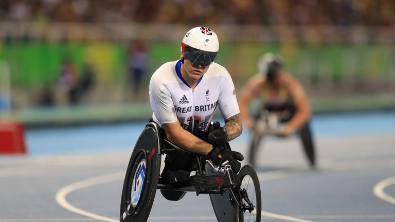 David Weir says he will never wear a Great Britain vest again