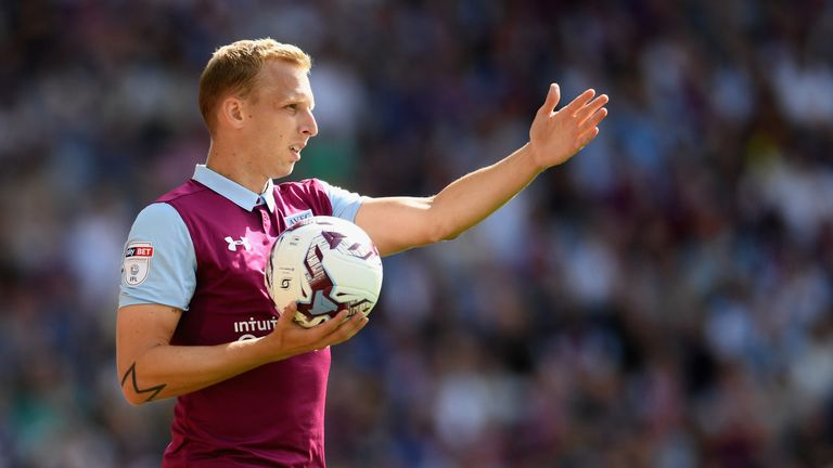 BIRMINGHAM, ENGLAND - SEPTEMBER 11:  Ritchie De Laet of Villa looks on during the Sky Bet Championship match between Aston Villa and Nottingham Forest at V