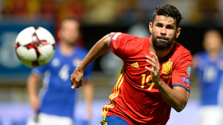 Diego Costa misses out for Spain due to injury