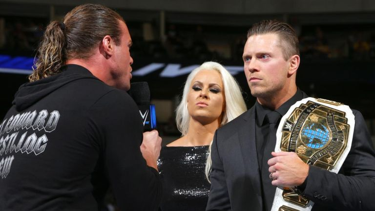 Ziggler says The Miz boosted the Intercontinental strap