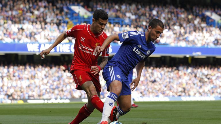 Eden Hazard says Philippe Coutinho's Barcelona move is bad news for