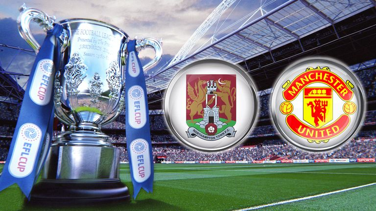 EFL Cup Northampton Town v Manchester United