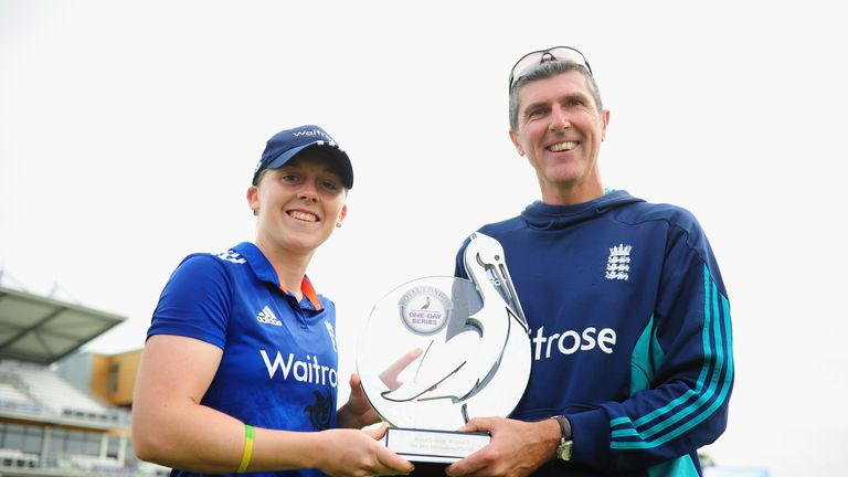 England Women's captain Heather Knight and head coach Mark Robinson will be tasked with winning the Ashes back