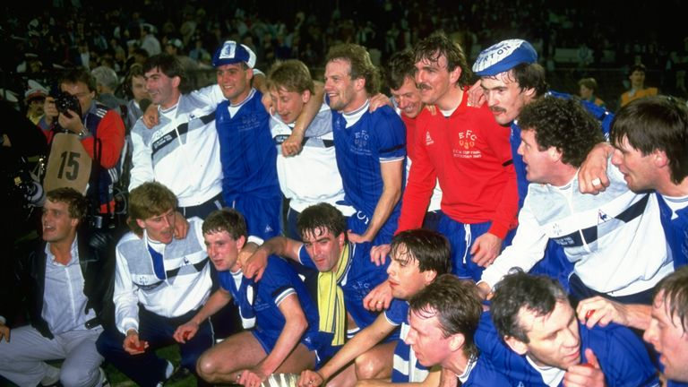Can Ronald Koeman Bring Back Everton S 1980s Glory Days Football News Sky Sports