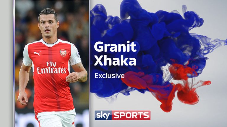 Granit Xhaka speaks exclusively to Sky Sports