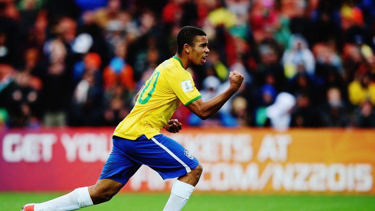 Gabriel Jesus was a member of Brazil's gold medal winning team in Rio
