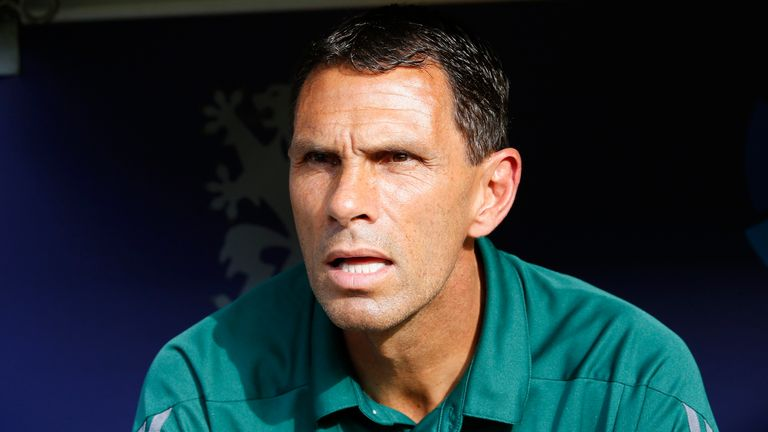 Gus Poyet was in charge of Chinese Super League club 	Shanghai Shenhua before moving to Bordeaux in January 2018