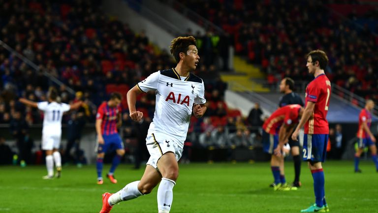 Heung-Min Son scored the only goal of the game in the second half