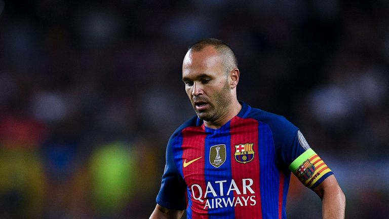 Andres Iniesta could make his 600th appearance for Barcelona this weekend
