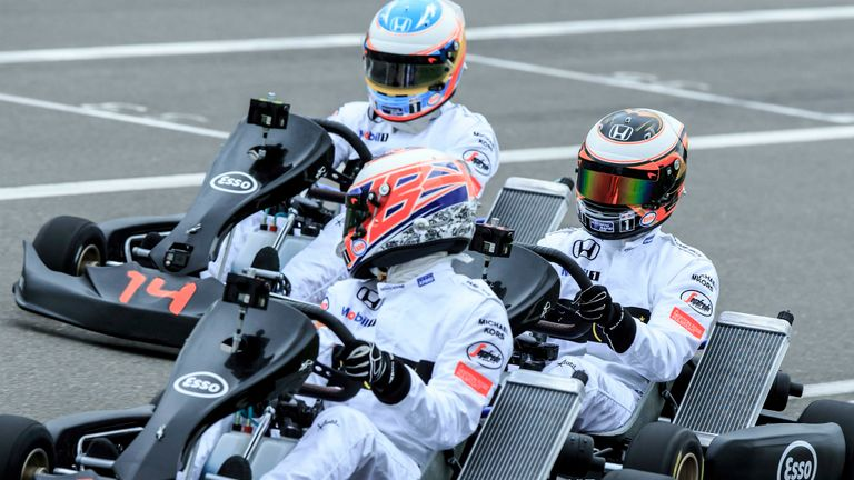 Jenson Button plans to spend more time karting