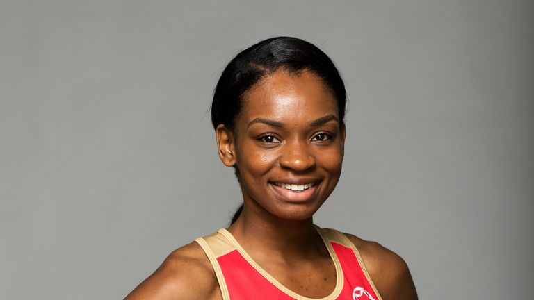 Jodie Gibson is one of three England internationals to join Severn Stars