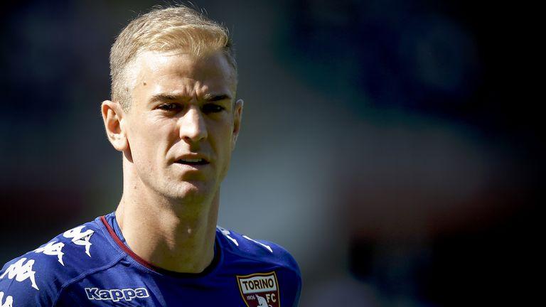 Torino's English goalkeeper Joe Hart conceded twice against Udinese