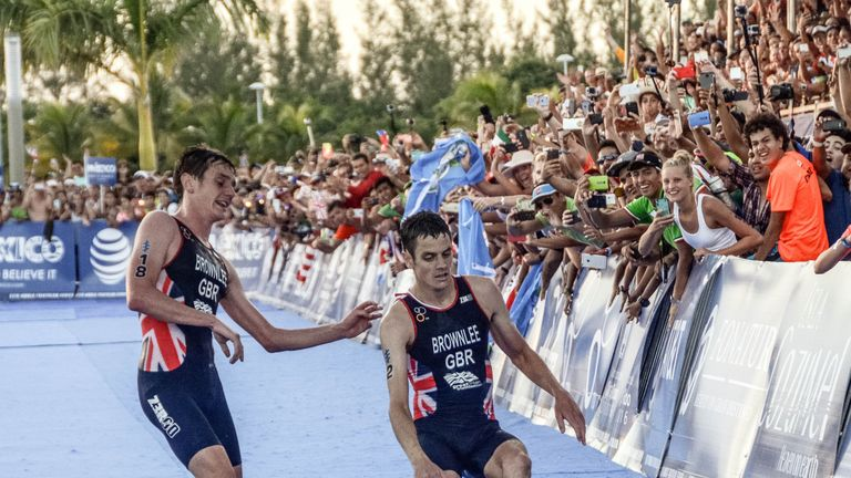 Jonny Brownlee missed out on the World Triathlon Series title by four points