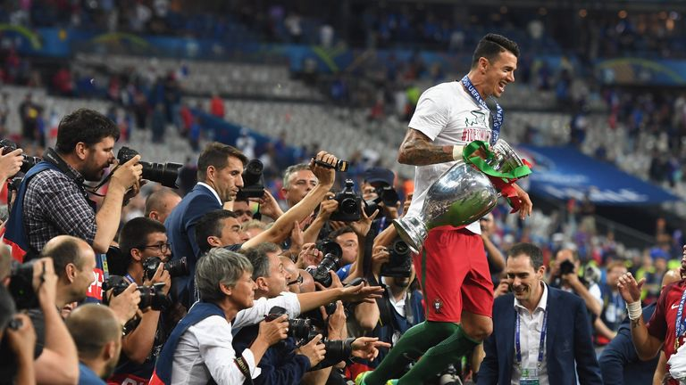 Fonte helped Portugal win Euro 2016 in the summer